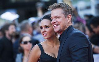 Talentatul domn Matt Damon, la 50 de ani: Starul e norocos că nu s-a însurat cu o femeie celebră