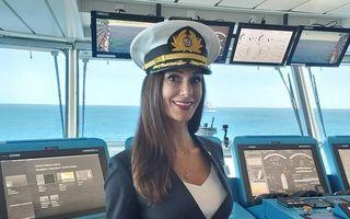 """""""Cum poți fi căpitan? Ești doar o femeie"""" - Răspunsul lui Kate, femeia căpitan pe o mega-navă de croazieră"""