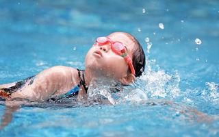 Copiii și sportul de performanță. Interviu cu mama unui copil care face înot de performanță