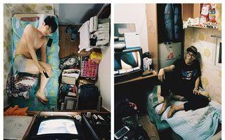 Mai închis decât în celulă: Cum se trăiește într-o cameră de patru metri pătrați