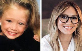 Cum arătau vedetele în copilărie: 15 imagini din trecut