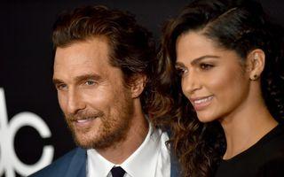 """Matthew McConaughey, un bărbat dintr-o """"specie"""" rară: """"Singurul meu vis a fost mereu să devin tată"""""""
