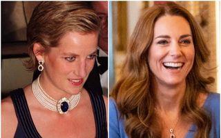 Cum a reinventat Kate Middleton bijuteria preferată a Prințesei Diana