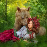 Ursul care a ajuns vedeta in Rusia: Acum e fotomodel
