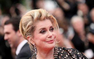 Catherine Deneuve, la 77 de ani: Cum arăta în tinerețe doamna filmului francez
