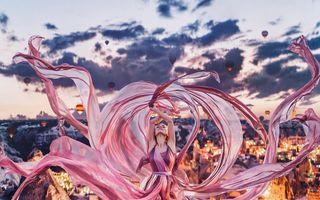 Creațiile unei artiste din Rusia: Fotografii magice cu balerine, în cele mai frumoase locuri din lume