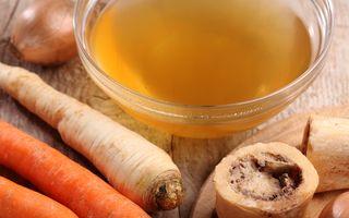 Supa de oase. Beneficii pentru sănătate și frumusețe