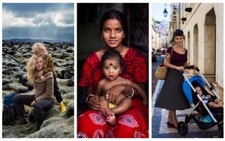 Cum arată o mamă în diferite colțuri ale lumii. 26 de imagini înduioșătoare