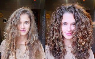 De la păr haotic la bucle perfect definite: Cum redă un hairstilist frumusețea părului creț