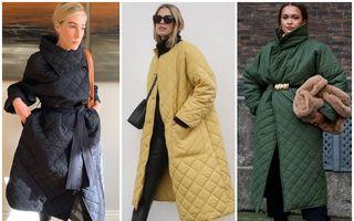 Cea mai populară piesă de iarnă: Cum poartă fashionistele haina matlasată