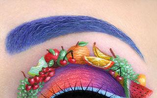 Makeup artistul care pictează pe pleoape: 30 de machiaje incredibile!