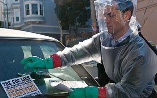 Jude Law fusese avertizat, în timp ce filma Contagion, că o pandemie similară e inevitabilă în realitate