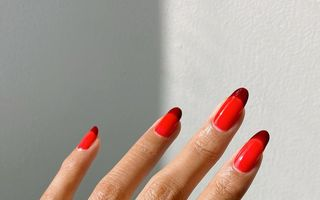 Cele mai frumoase manichiuri în nuanțe de roșu. 50 de idei