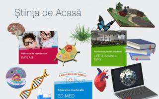 Baylab aduce știința în casele copiilor, ca parte a proiectului Știința de Acasă!