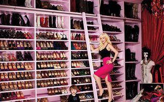 Cum arată dressing-urile vedetelor. 20 de garderobe care te vor șoca
