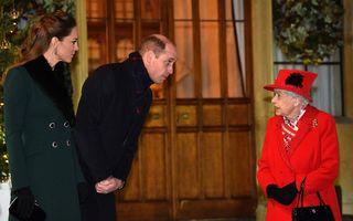 """Cum a salutat-o Prințul William pe Regina Elisabeta: """"Pa, buni!"""""""