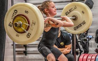 Cea mai puternică fată din lume: La 7 ani ridică greutăți de 80 de kilograme