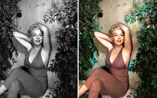 Frumusețe și stil: 30 de imagini cu vedete din trecut, în varianta color