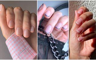 Manichiura franțuzească micro, noul trend minimalist pe care să-l încerci