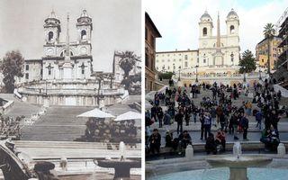 Trecut și prezent: 17 locuri din Europa care au rămas aproape neschimbate în 100 de ani