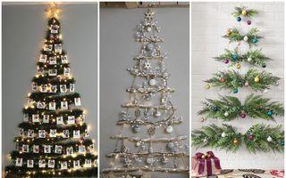 30 de idei pentru un Pom de Crăciun original. Nu ai nevoie de brad!