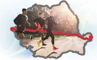 """""""Aleargă România"""", cursa virtuală care te motivează să faci mișcare: """"Faci sport, dar afli și ceva despre țara ta"""""""