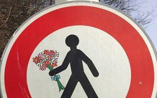 Vandalism de prima clasă: 30 de desene deștepte pe care ai vrea să le vezi pe stradă