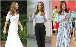 Kate Middleton a fost numită cel mai popular influencer de modă din Marea Britanie