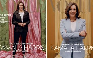 Kamala Harris, pe coperta Vogue: Imaginile au provocat un scandal