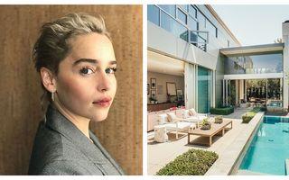 """Casa de vis pe care Emilia Clarke a vândut-o în pierdere: 30 de imagini spectaculoase cu vila vedetei din """"Game of Thrones"""""""