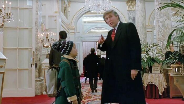 Trump Home Alone
