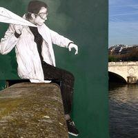Arta invinge vandalismul: Cum arata strazile din Paris dupa ce intra pe mana unui artist