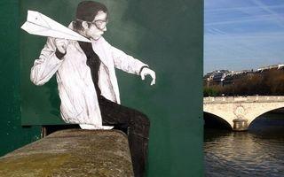 Arta învinge vandalismul: Cum arată străzile din Paris după ce intră pe mâna unui artist