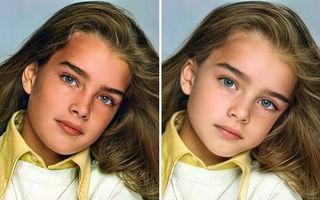 Cum ar arăta vedetele dacă ar fi din nou copii: 20 de imagini care te vor uimi
