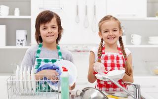 La ce vârstă ar trebui copiii să înceapă să se implice în treburile casnice