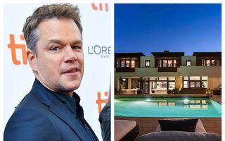 Matt Damon își vinde casa din Los Angeles: Cum arată vila cu 7 dormitoare și 10 băi