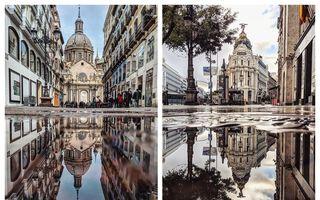 O lume paralelă: 9 orașe din Europa văzute în oglinda apei