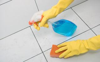 Curățarea rosturilor de la gresie. Cele mai bune metode