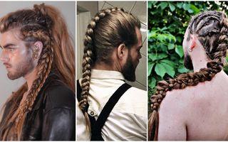 Noul trend în rândul bărbaților cu părul lung: coafuri elaborate care ar face invidioasă orice femeie