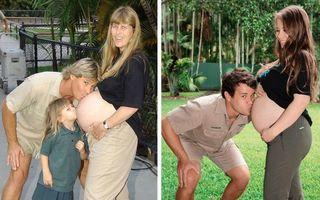 Copilărie versus maturitate. 15 fotografii din trecut readuse la viață