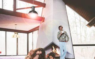 Casa cu design din anii '70 care a cucerit internetul: Ai senzația că te-ai întors în timp!