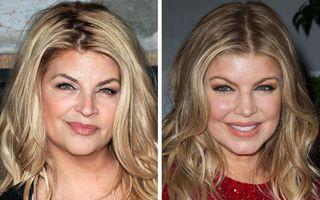 28 de vedete care seamănă mult, dar nu au același sânge: Kirstie Alley și Fergie sunt ca două surori