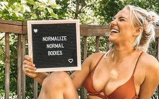 """""""Normalizați corpurile normale"""", campania de pe rețelele de socializare care le îndeamnă pe femei să-și accepte corpul"""