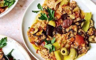 Caponata siciliană, cel mai delicios mod de a mânca mai multe legume