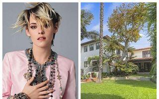Kristen Stewart și-a luat casă în Los Angeles: Prețul pe care l-a plătit vedeta pentru vila în stil mediteranean