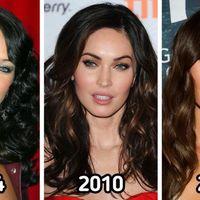 Cum aratau vedetele la inceputul carierei: Transformarea prin care a trecut Megan Fox