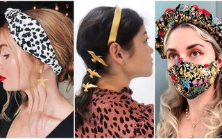 Bentițele sunt din nou la modă: 35 de idei ca să le incluzi în coafuri trendy