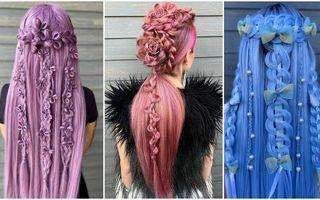 Împletiturile incredibile create de un hairstilist de 21 de ani: Sunt atât de frumoase încât au devenit virale