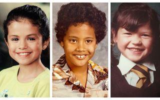 Cum arătau vedetele când erau copii: 14 imagini deosebite