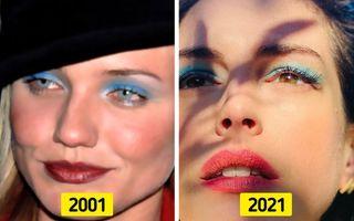 14 tendințe noi în machiaj care sunt copiate din trecut